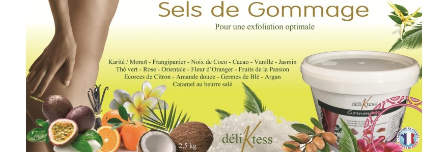 Sels de gommage